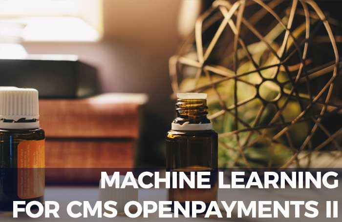 Machine Learning with CMS Public Healthcare Dataset, Part II
